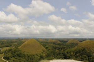 Chocolate Hills and Bohol philippines